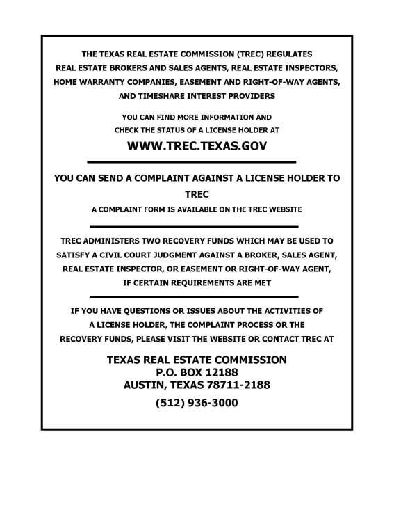 Consumer Notice